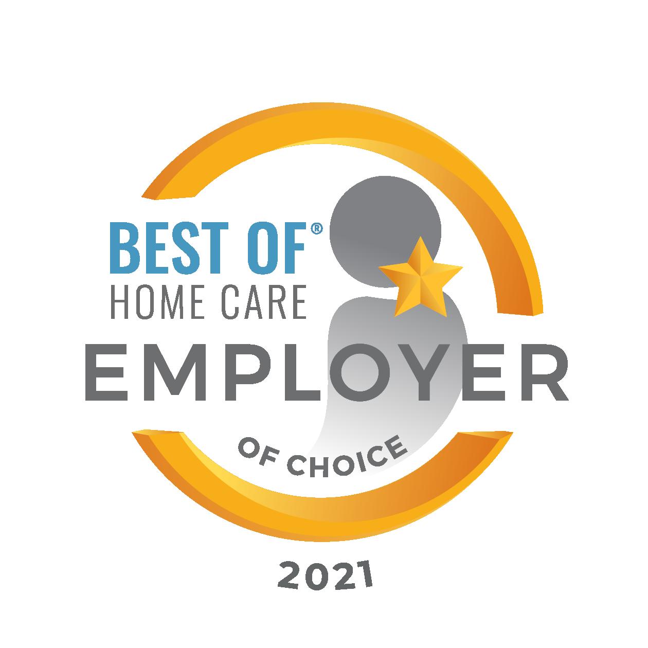 HCA Employer of Choice 2021